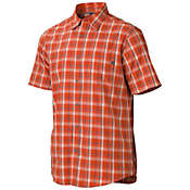 Marmot Men's Alder Plaid SS Top
