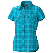 Marmot Women's Audrey Plaid SS Top