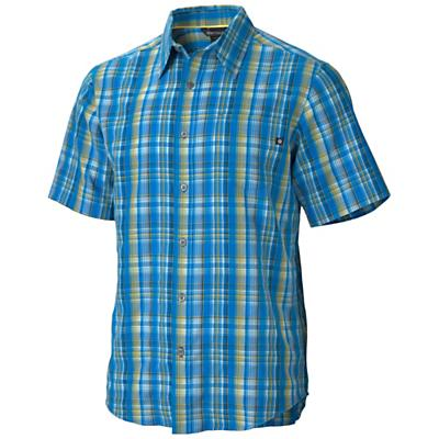 Marmot Men's Byron Plaid SS Top