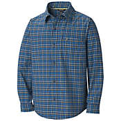 Marmot Boys' Cordova Plaid LS Top