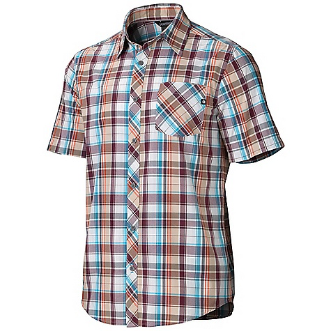 photo: Marmot Dexter Plaid SS hiking shirt