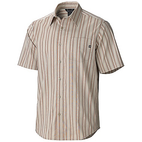 photo: Marmot El Moro Stripe SS Top hiking shirt