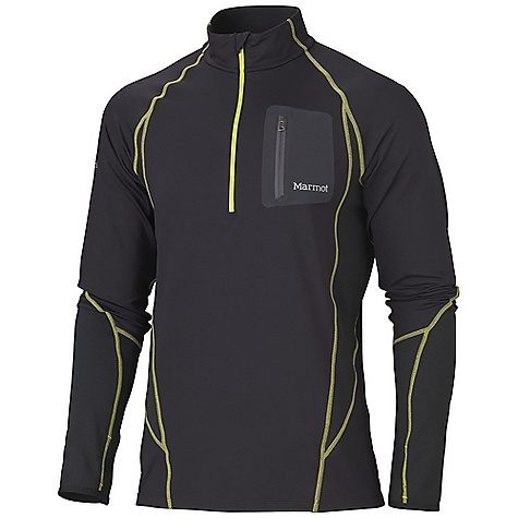 photo: Marmot Helix 1/2 Zip long sleeve performance top