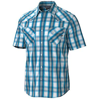 Marmot Men's Huxley Plaid SS Top