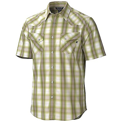 photo: Marmot Huxley Plaid SS hiking shirt