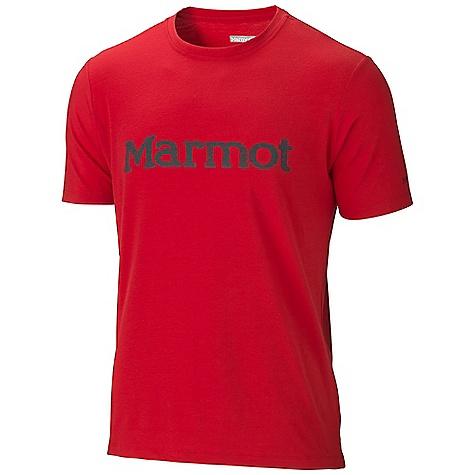 photo: Marmot Logo Tee SS short sleeve performance top