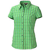 Marmot Women's Reese Plaid SS Top