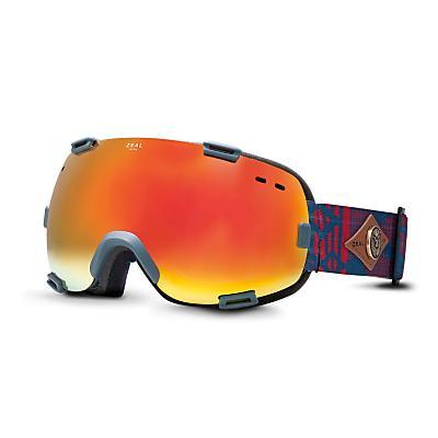 Zeal Voyageur Snowboard Goggles Cs Division /Bluebird Mirror Lens - Men's