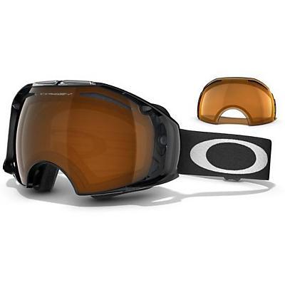 Oakley Airbrake Snowboard Goggles Jet / Irid + Persimmon Lens - Men's