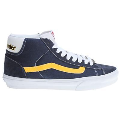 Vans Mid Skool '77 Shoes (Skateboarder) Navy/Yellow - Men's