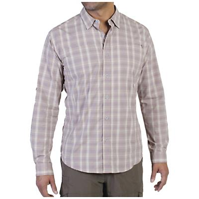 ExOfficio Men's Dryfly Flex Midi Plaid L/S Top