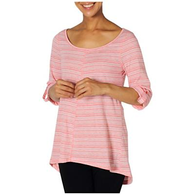 ExOfficio Women's Go To Stripe Tunic 3/4 Sleeve Top