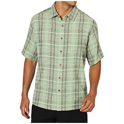 ExOfficio Men's Now Boarding Plaid S/S Top