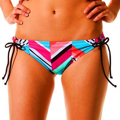 Roxy Women's Wave Peak 70s Lowrider Tie Side Bikini Bottom