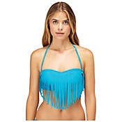 Roxy Women's Surf Essentials Fringe Bandeau Top