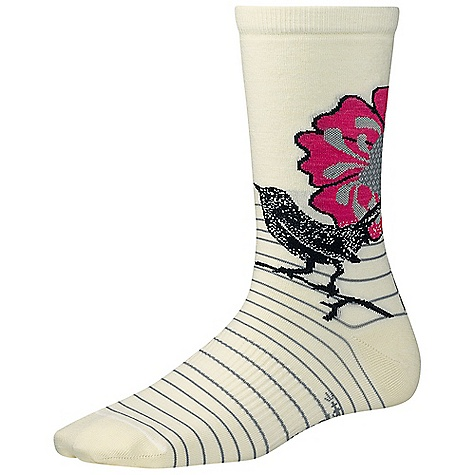 photo: Smartwool Flowering Lark hiking/backpacking sock