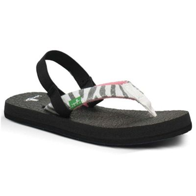 Sanuk Toddler Yoga Wildlife Girls Sandal
