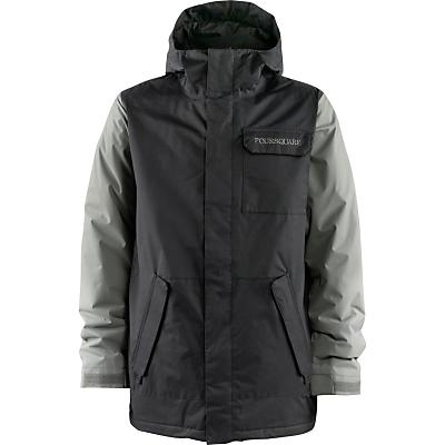 Foursquare Havoc Snowboard Jacket top Cobain Print - Men's