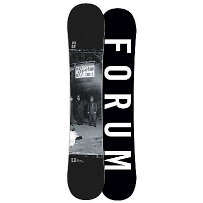 Forum Destroyer Doubledog Wide Snowboard 154 - Men's