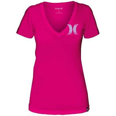 Hurley Women's One & Only Icon Perfect V Shirt