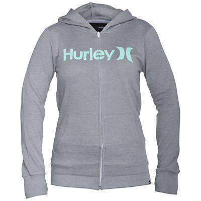 Hurley Women's One & Only Slim Fleece Zip Hoody