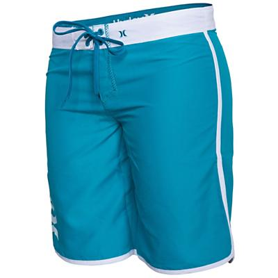 Hurley Women's Supersuede Solid 9IN Beachrider Boardshort