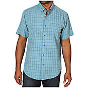 Ex Officio Men's Pisco Micro Plaid S/S Tee