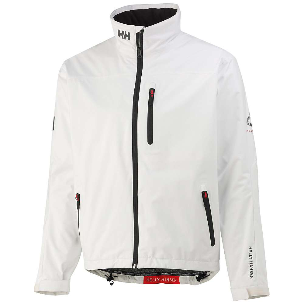 Helly Hansen Men's Crew Midlayer Jacket - XL - White