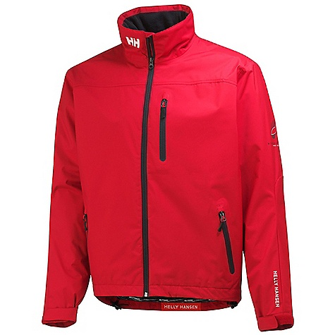 Helly Hansen Men's Crew Midlayer Jacket Red