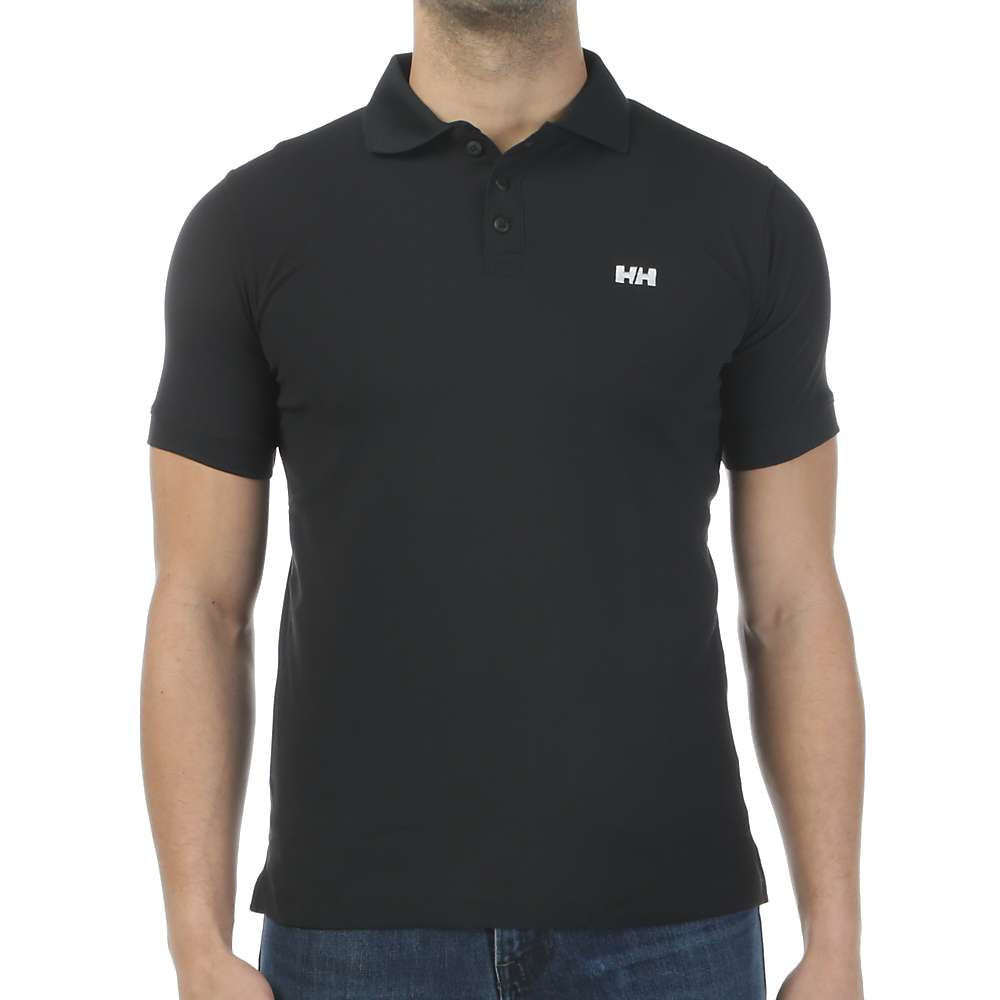 Helly Hansen Men's Riftline Polo - Medium - Black