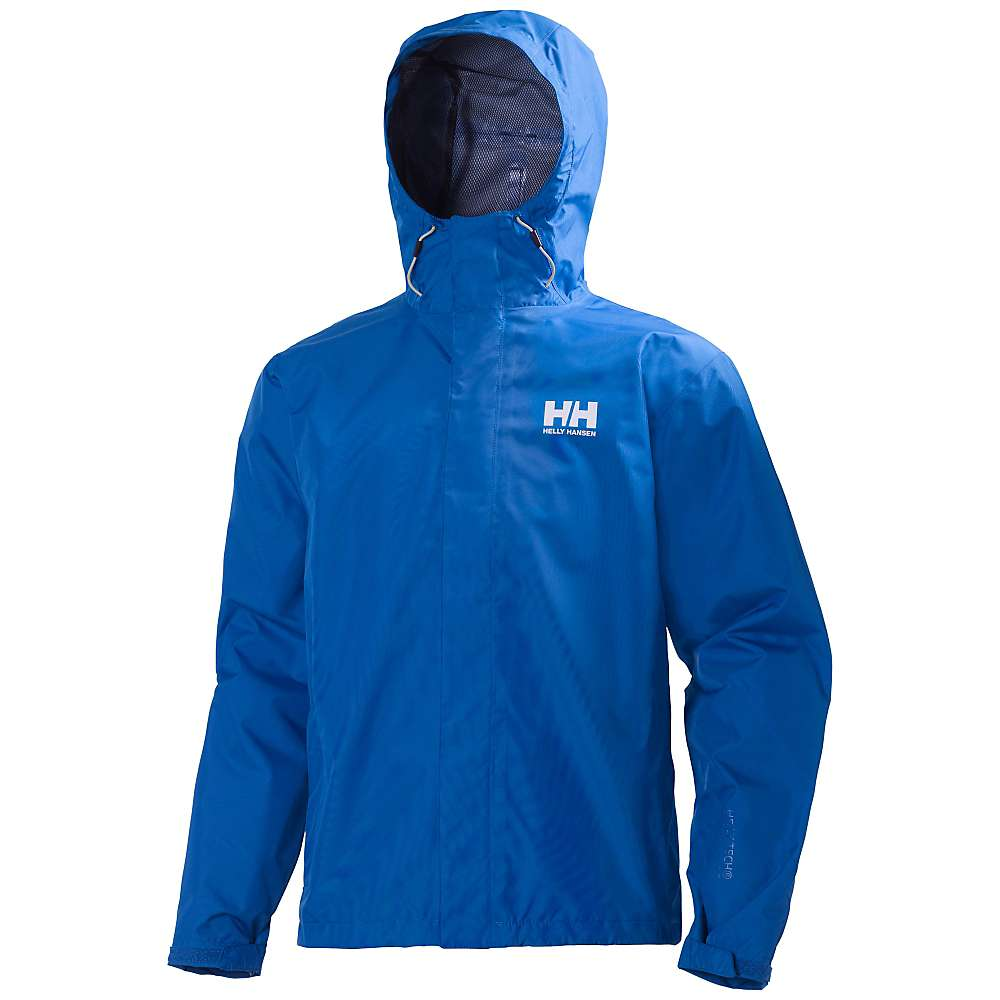 Helly Hansen Men's Seven J Jacket - Large - Cobalt Blue