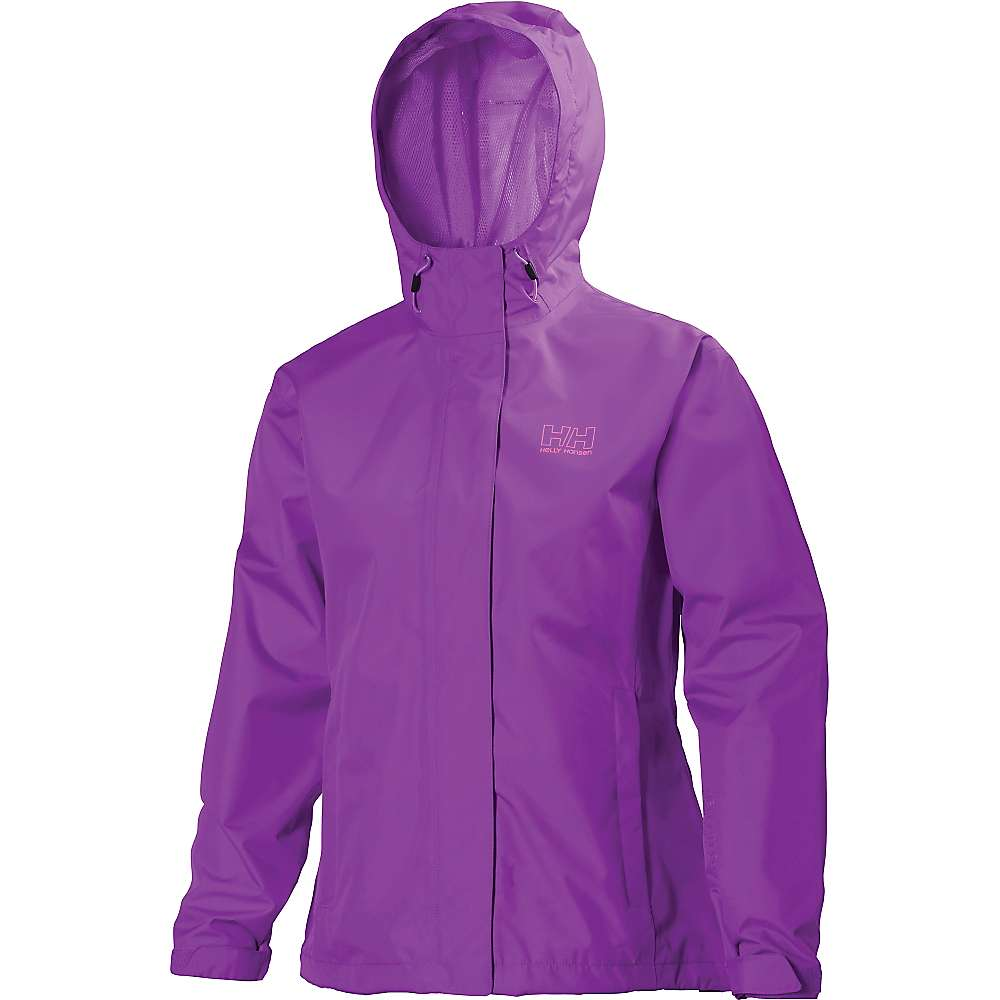 Helly Hansen Women's Seven J Jacket - Small - Sunburned Purple