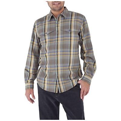 Royal Robbins Men's Acoustic Flannel Plaid L/S Top