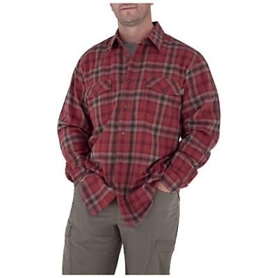Royal Robbins Men's Blackrock Plaid L/S Top