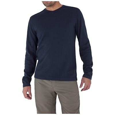 Royal Robbins Men's Horizon Solid V-Neck Top