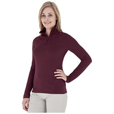 Royal Robbins Women's Mountain Velvet 1/4 Zip Top
