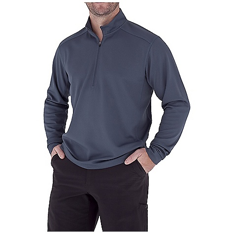 photo: Royal Robbins Performance Waffle 1/4 Zip Shirt