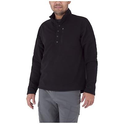 Royal Robbins Men's Textured Fleece Snap Mock Top