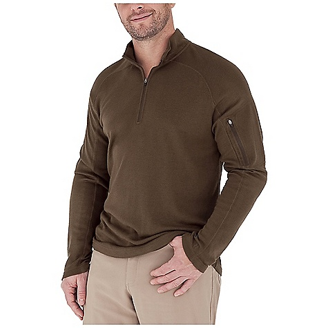 photo: Royal Robbins The Duke 1/4 Zip long sleeve performance top