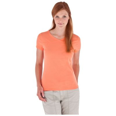 Royal Robbins Women's Endeavor S/S Crossover Top