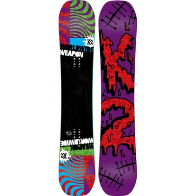 K2 WWW Rocker Snowboard 157 - Men's