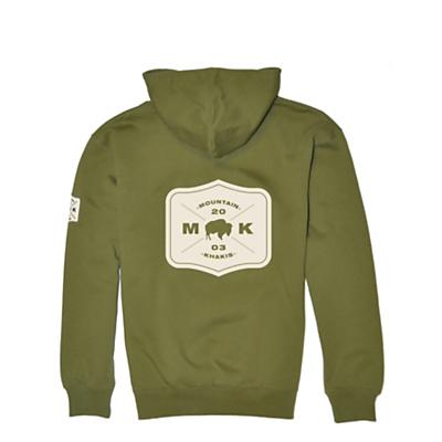 Mountain Khakis Men's Bison Patch Hoodie