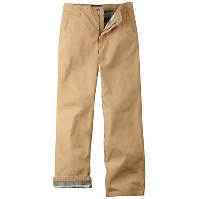 Mountain Khakis Men's Flannel-Lined Original Mountain Pant