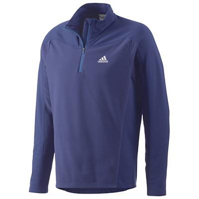 Adidas Men's Hiking / Trekking 1 Sided Fleece Half Zip Top