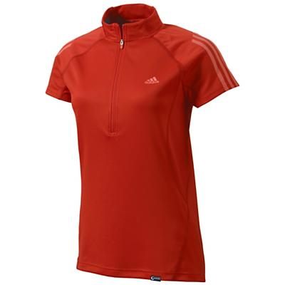 Adidas Women's Terrex Swift Half Zip Short Sleeve Shirt
