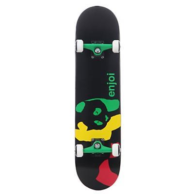Enjoi Panda Skateboard Complete Black
