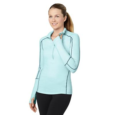 lucy Women's Fast As Lightning Half Zip Top