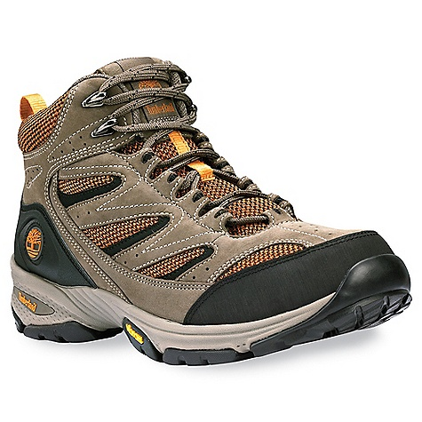 photo: Timberland Ledge Mid Leather and Fabric Hiker hiking boot