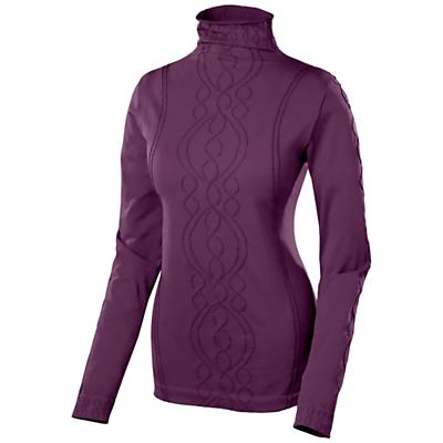 Isis Women's Cable Funnel-Neck Top