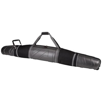 Athalon Platinum Molded Wheeling Double Ski Bag